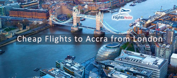 Cheap Flights to Accra from London with FlightsPedia