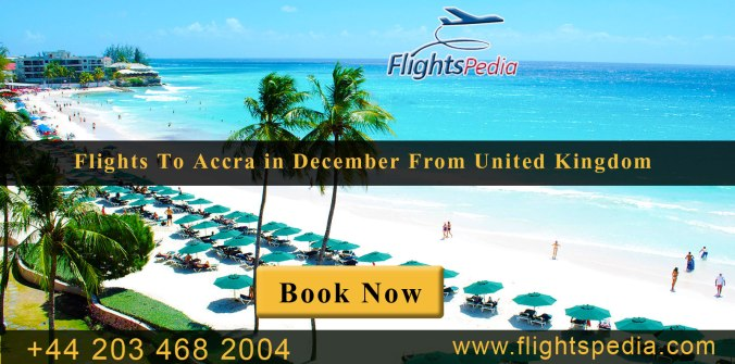 Cheap Flights to Accra in December with FlightsPedia